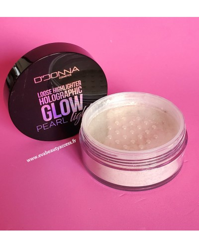 Loose Highlighter Holographic Glow Pearl Lights - D'DONNA