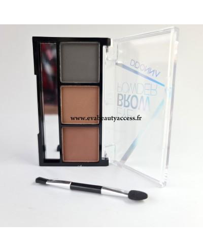Palette Sourcil 'EYE BROW POWDER' - N°2 - D'DONNA