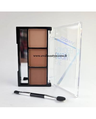 Palette Sourcil 'EYE BROW POWDER' - N°3 - D'DONNA