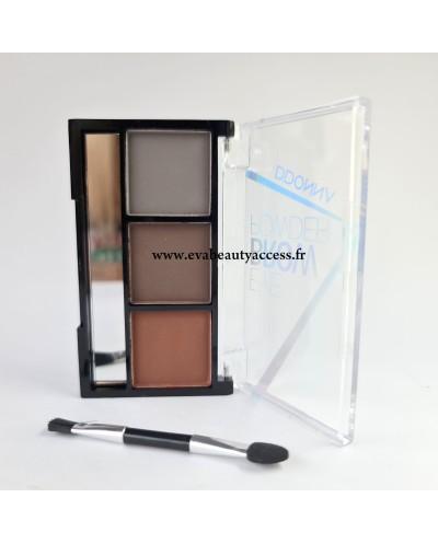 Palette Sourcil 'EYE BROW POWDER' - N°4 - D'DONNA