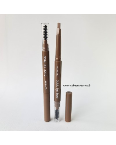 Crayon pour Sourcil 'QUICK EYE BROWN' - 001 - WYNIE