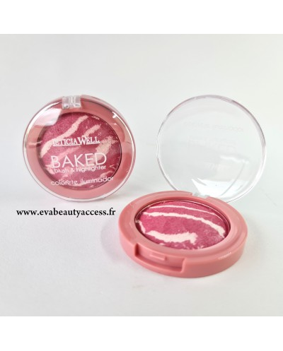 Baked Blush & Highlighter - N°15 - LETICIA WELL