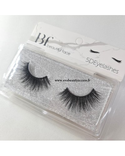 Faux Cils '5D EYELASHES' - REF 7106 - Beautiful Face