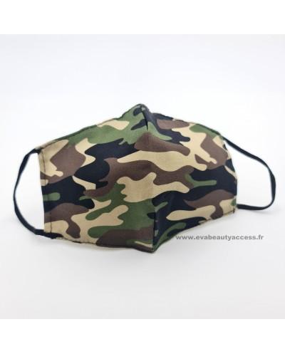 Masque en Tissu Lavable - Militaire
