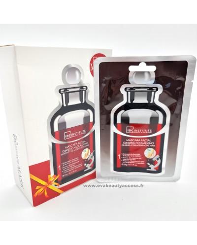 Masque en Tissu Visage Gingembre + Collagène - IDC INSTITUTE