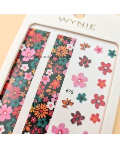 Grande Planche de Stickers Ongles - 678 - WYNIE