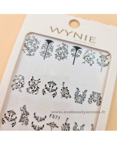 Grande Planche de Stickers Ongles - F571 - WYNIE