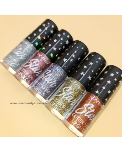 'STAR GLITTER SHINE' Lip Gloss - 002 - WYNIE
