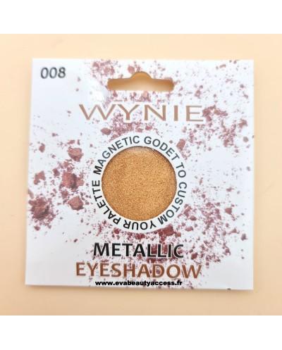 Godet - Fard à Paupière - 'METALLIC' - 008 - WYNIE