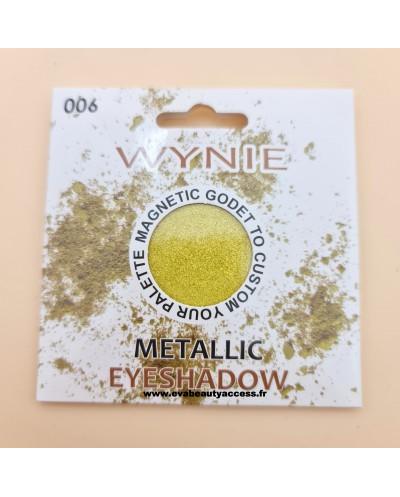 Godet - Fard à Paupière - 'METALLIC' - 006 - WYNIE