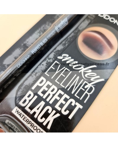Smokey Eyeliner Perfect Black Waterproof + Taille Crayon - D'DONNA