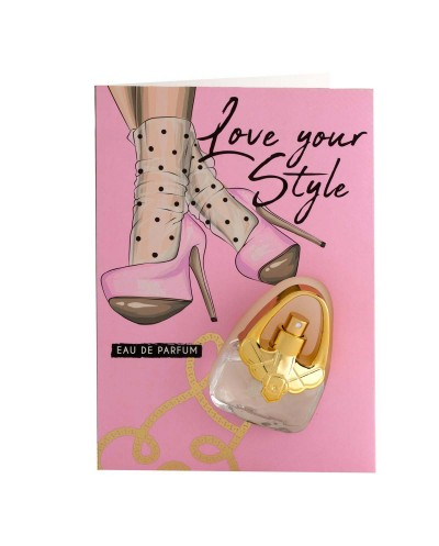 Carte Cadeau Parfum - LOVE YOUR STYLE - FLOR DE MAYO
