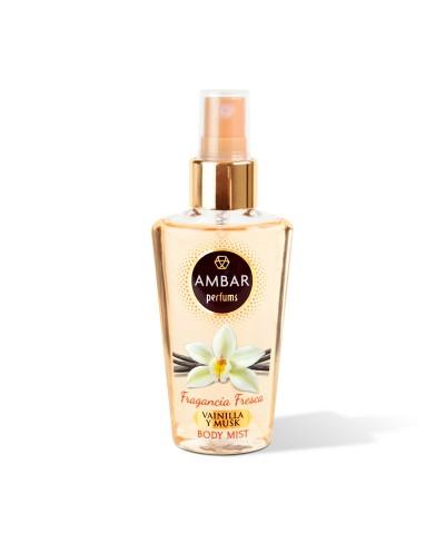 Mini Brume Parfumée Vanille et Musc • Brume Parfumée à Petit Prix • Eva Beauty Access