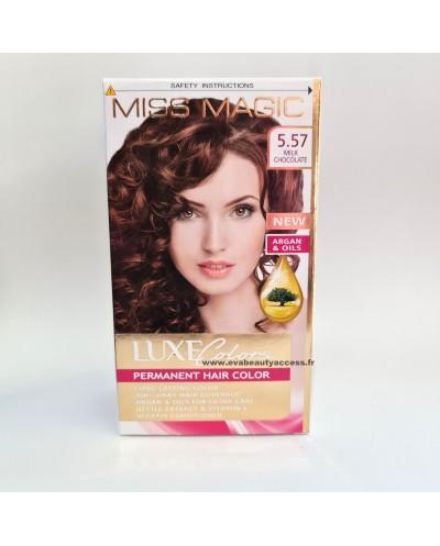 Coloration Permanente Cheveux Luxe Colors - 5.57 Chocolat au Lait - MISS MAGIC