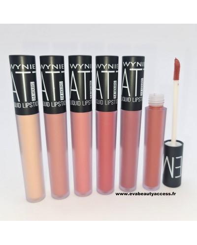 Rouge à Lèvre Liquide Matte 24H Sans Transfert • Maquillage à Petit Prix • Eva Beauty Access