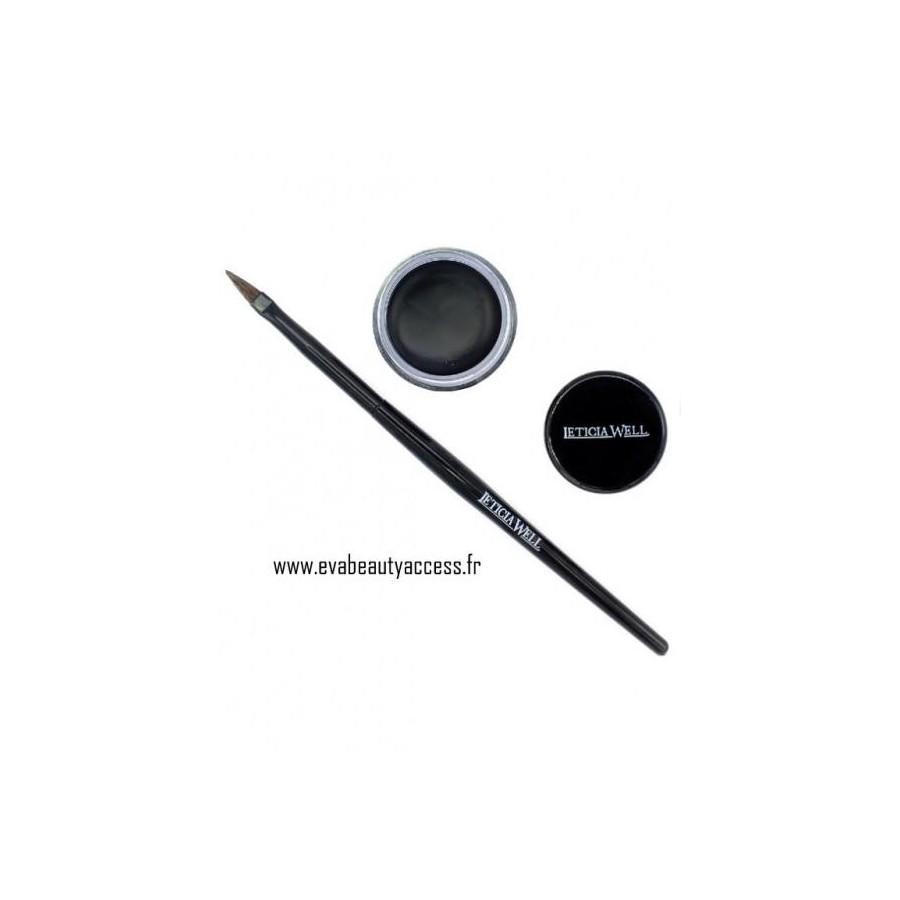 Gel Eye Liner 24H + Pinceau - LETICIA WELL